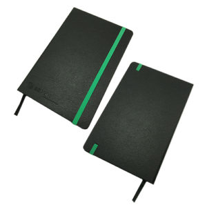 L0017-Leather Notebook w Strap (MOQ500-79)