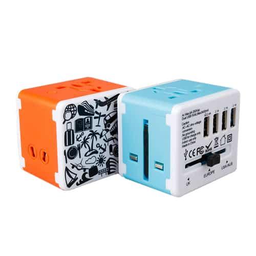 V0004-4 USB Travel Adaptor (MOQ300-119)