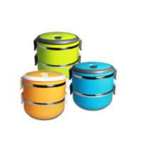 2 Tier Lunch Box - AYKI1003-120