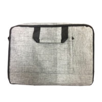 B0056-Snow Canvas Document Bag (MOQ1000-65)