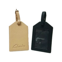 L0075-Leather Luggage Tag (MOQ500-65)